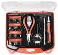 (1011712) Набор инструментов Cablexpert TK-BASIC-02 (44 пр.)