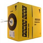 (1011711) Кабель FTP Power Cube PC-FPC-5004E-SOL кат.5e CCA однож. 4х2х0.48 мм, экран, 305 м pullbox, серый