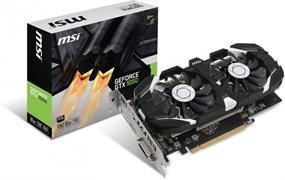 (1011604) Видеокарта MSI PCI-E GTX 1050 2GT OCV1 nVidia GeForce GTX 1050 2048Mb 128bit GDDR5 1404/7008 DVIx1/HDMIx1/DPx1/HDCP Ret