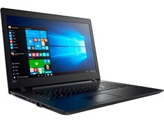 "(1011787) Ноутбук LENOVO IP110-17IKB Core i7 7500U, 8Gb, 1Tb, DVD-RW, AMD Radeon R5 M430 2Gb, 17.3"", 1600x900, DOS, black, WiFi, BT, Cam, 80VK005PRK"