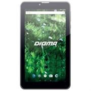 "(1011827) Планшет Digma Optima Prime 3 3G MT8321 (1.3) 4C, RAM1Gb, ROM8Gb 7"" IPS 1024x600, 3G, Android 7.0, черный, 0.3Mpix, BT, GPS, WiFi, Touch, microSD 64Gb, minUSB, 2200mAh"