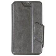 """(1011822) Универсальный чехол-флип Smarterra STICKER S 3.5""""- 4.3"""" с карманом (Черный)"""