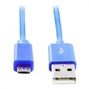 (1011806) Дата-кабель Smartbuy USB - micro USB,  длина 1,2 м, голубой (iK-12c blue)