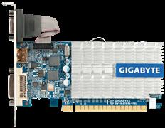(1011836) Видеокарта Gigabyte GV-N210SL-1GI {GF210, 1GB DDR3, DVI-I D-Sub HDMI, PCI-E} RTL