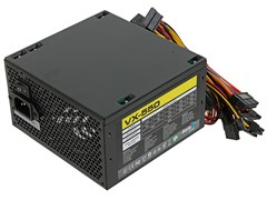 (1011844) Блок питания Aerocool ATX 550W VX-550 (24+4+4pin) 120mm fan 3xSATA RTL