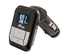 (1011877) Автомобильный FM-модулятор Ritmix FMT-A710 черный MicroSD USB PDU