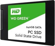 "(1011889) Накопитель SSD WD Original SATA III 240Gb WDS240G2G0A WD Green 2.5"""