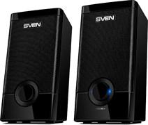 (207134) Колонки Sven 318 пластиковые, USB, 2x2,5 Вт, черные