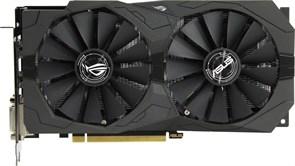 (1009959) Видеокарта Asus PCI-E ROG-STRIX-RX570-O4G-GAMING AMD RX570 4096Mb 256b GDDR5 1300/7000 DVIx2/HDMIx1/