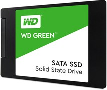 "(1011890) Накопитель SSD WD Original SATA III 120Gb WDS120G2G0A WD Green 2.5"""