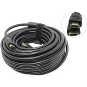 (1011911) Exegate EX194338RUS Кабель HDMI (19M -19M) 15м Exegate, v1.4b, позолоченные контакты