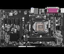 (1011842) Материнская плата Asrock H81 Pro BTC R2.0 Soc-1150 Intel H81 2xDDR3 ATX AC`97 6ch(5.1) GbLAN+VGA+HDM