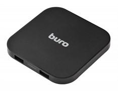 (1011944) Беспроводное зар./устр. Buro Q8 1A универсальное кабель microUSB черный