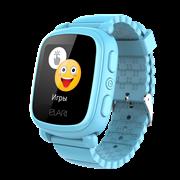 (1011926) Смарт часы детские Elari KidPhone 2  голубые