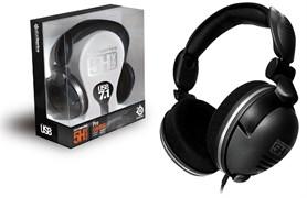 (1012054) Наушники с микрофоном Steelseries 5H v2 USB черный 1м мониторы (61001)