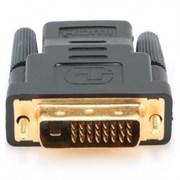 (1012037) Переходник HDMI-DVI Cablexpert A-HDMI-DVI-2, 19F/19M, золотые разъемы, пакет