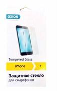 (1011042) OXION Защитное стекло для IPHONE 7, 9H/2.5D/0.33, прозрачное (OGIP006)