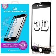 (1011079) Стекло защитное 3D Group для iPhone 7/8 черное OEM