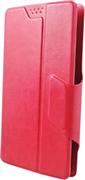 """(1011808) Универсальный чехол-книжка Smarterra SlideUP Frame Размер E: 5,3""""-5,6"""" (красный )"""