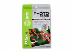 (1012071) Фотобумага Cactus CS-GA523050 A5/230г/м2/50л./белый глянцевое для струйной печати