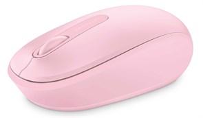 (1012149) Мышь Microsoft Mobile Mouse 1850 розовый оптическая (1000dpi) беспроводная USB для ноутбука (2but)