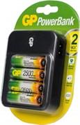 (1012126) Аккумулятор + зарядное устройство GP PowerBank PB550GS250 AA NiMH 2450mAh (4шт)