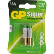 (1012120) Батарейка GP Super Alkaline 24A LR03 AAA (2шт)
