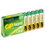 (1012119) Батарейка GP Super Alkaline 24A LR03 AAA (10шт)