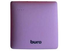 (1011213) Мобильный аккумулятор Buro RA-7500PL-PU Pillow Li-Ion 7500mAh 2.1A фиолетовый 2xUSB