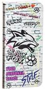 (1011920) Внешний аккумулятор Black Fox BMP040F, 4000mAh (Цвет-Граффити)