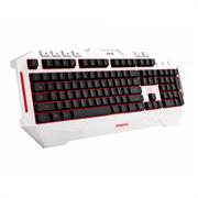 (1011078) Клавиатура Asus Cerberus Arctic белый USB Multimedia LED