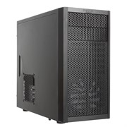 (1004021) Корпус Fractal Design Core 1000 USB 3.0 черный w/o PSU mATX SECC 1*120mm fan USB2.0 USB3.0 audio