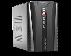 (1012155) ИБП CROWN Line Intractive CMU-SP1200EURO LCD USB, 1200VA\720W, корпус металл, 2x12V/9AH, розетки 4*EURO+1*IEC bybass, трансформатор AVR 140-290V, LCD-дисплей, cъёмный кабель 1.8 м, порт RJ11/45, порт USB, защита: от перегрузки, от КЗ, от ск
