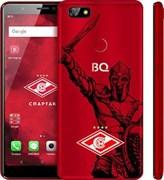 """(1012189) BQ 5500L Advance LTE Red MT6737 x4, 2gb, 16gb, 5.45"""" (1440x720), 2sim Android 7.0, Красный, 3G, 4g, WiFi, GPS, BT, Cam, 2500mAh официальный смартфон """"ФК """"Спартак-Москва"""""""