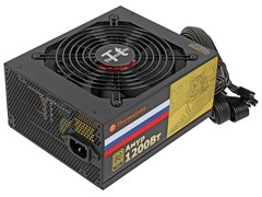 (1012184) Блок питания Thermaltake ATX 1200W AMUR W0430 80+ gold (24+8+4+4pin) APFC 135mm fan 12xSATA Cab Mana