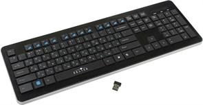 (1012178) Клавиатура Oklick 870S черный USB беспроводная slim Multimedia