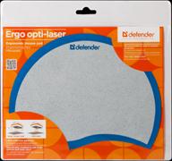 (1012241) Коврик для мышки OPTI LASER ERGO BLUE 50513 DEFENDER