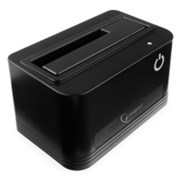 "(1012230) Докстанция 2.5""/3.5"" Gembird HD32-U3S-4, черный, USB 3.0, SATA, HDD/SSD"