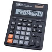 (1012311) Калькулятор бухгалтерский Citizen SDC-444S черный 12-разр.