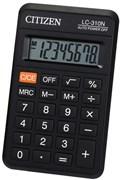 (1012310) Калькулятор карманный Citizen LC-310N черный 8-разр.