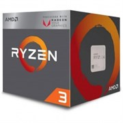 (1012344) Процессор AMD Ryzen 3 2200G BOX <65W, 4C / 4T, 3.7Gh(Max), 6MB(L2+L3), AM4> RX Vega Graphics (YD2200C5FBBOX)