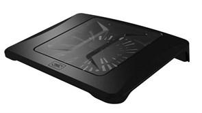 "(1012364) Подставка для ноутбука Deepcool N300 15.6""340x266x57мм 23дБ 1xUSB 1x 200ммFAN 558г алюминиевая сетка"