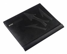 "(1012365) Подставка для ноутбука Titan TTC-G22T 15""300x264x28мм 23.1дБ 1x 80ммFAN металлическая сетка/пластик"