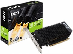 (1012370) Видеокарта MSI PCI-E GeForce GT 1030 2GH LP OC nVidia GeForce GT 1030 2048Mb 64bit GDDR5 1265/6008/HDMIx1/DPx1/HDCP Ret low profile