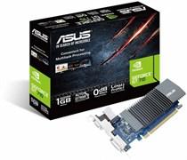 (1012368) Видеокарта Asus PCI-E GT710-SL-1GD5 nVidia GeForce GT 710 1024Mb 32bit GDDR5 954/5012 DVIx1/HDMIx1/CRTx1/HDCP Ret low profile