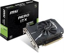 (1012367)  Видеокарта MSI PCI-E GeForce GTX 1050 Ti AERO ITX 4G OCV1 nVidia GeForce GTX 1050TI 4096Mb 128bit GDDR5 1341/7008 DVIx1/HDMIx1/DPx1/HDCP Ret