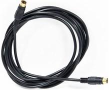 (98956)  Кабель S-Video (M) -> S-Video (M),  3.0m, Vcom (VAV7187-3M), позолоченные контакты, черный