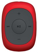 (1012512) Плеер MP3 Flash Digma C2L 4Gb красный/FM/clip