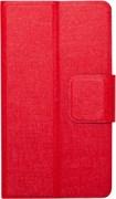 """(1012488) Универсальный чехол-книжка Smarterra STICKER M 4.4""""- 5.0"""" (Красный)"""