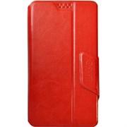"""(1012483) Универсальный чехол-книжка Smarterra STICKER L 5.1""""- 5.5"""" (Красный)"""